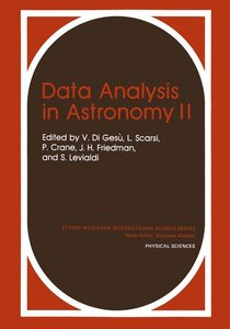 Data Analysis in Astronomy II