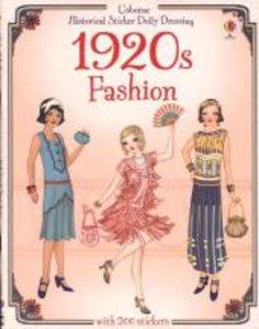 Historical Sticker Dolly Dressing: 1920s Fashion