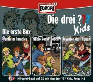 Die drei ???-Kids - Die 1. Box. Box.1, 3 Audio-CDs