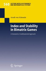 Index and Stability in Bimatrix Games