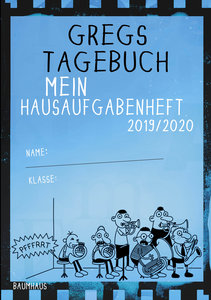 Gregs Tagebuch - Mein Hausaufgabenheft 2019/2020