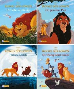 Nelson Mini-Bücher: 4er König der Löwen 1-4