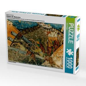 Ein Motiv aus dem Kalender Klöster der Bukowina 1000 Teile Puzzl