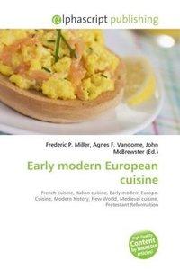 Early modern European cuisine