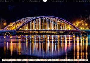 Über Brücken gehen (Wandkalender 2019 DIN A3 quer)