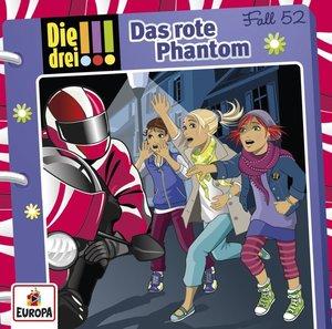 Die drei !!! 52: Das rote Phantom (Audio-CD)