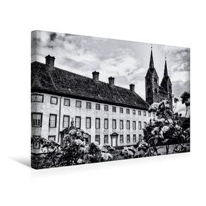 Premium Textil-Leinwand 45 cm x 30 cm quer Schloss und Kloster