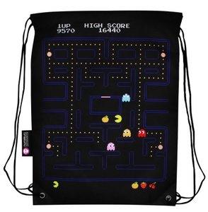 Pac-Man Gameplay Cinch Bag, Stoff-Rucksack, Tasche