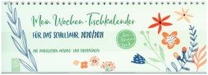 """Mein Wochen-Tischkalender für das Schuljahr 2020/2021 - \""""live -"""
