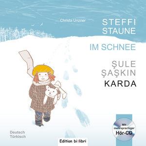 Steffi Staune im Schnee. Deutsch-Türkisch
