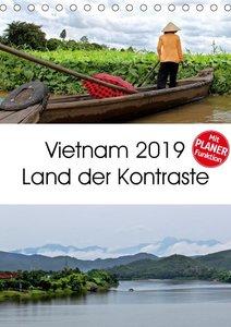 Vietnam 2019 Land der Kontraste (Tischkalender 2019 DIN A5 hoch)