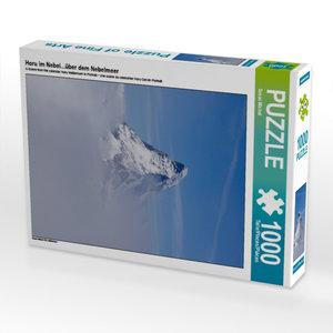 Ein Motiv aus dem Kalender Horu Matterhorn im Hochformat 1000 T