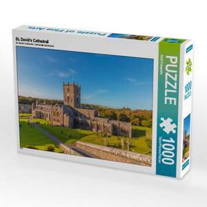 CALVENDO Puzzle St. David\'s Cathedral 1000 Teile Lege-Größe 64