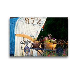 Premium Textil-Leinwand 45 cm x 30 cm quer Trauminsel Amrum