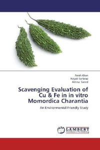 Scavenging Evaluation of Cu & Fe in in vitro Momordica Charantia