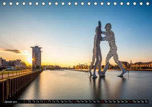 Berlin - Bilder einer Metropole (Tischkalender 2019 DIN A5 quer)
