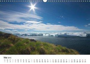 Rund um den Ilulissat Eisfjord - GR?NLAND 2019 (Wandkalender 201