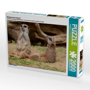 Einfach mal relaxen! 2000 Teile Puzzle quer