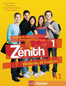 Zénith 1 Livre de l'élève - Kursbuch mit DVD-ROM und Lösungsheft