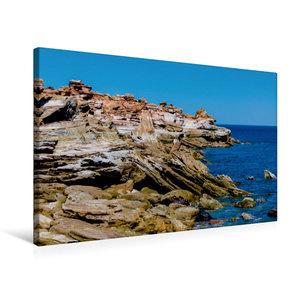 Premium Textil-Leinwand 75 cm x 50 cm quer Gantheaume Point