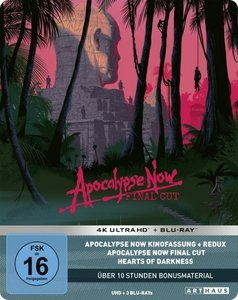 Apocalypse Now - Final Cut 4K, 3 Blu-ray (Limited 40th Anniversa