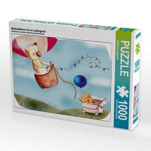 Ballonfahren ist so aufregend 1000 Teile Puzzle quer