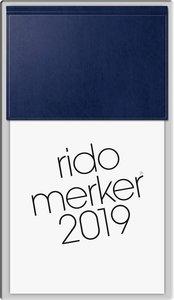 Tischkalender merker 2016 PVC blau