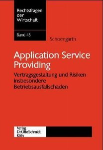 Application Service Providing