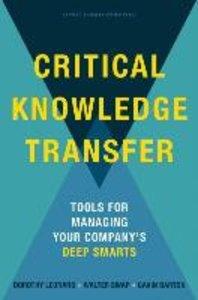 Critical Knowledge Transfer
