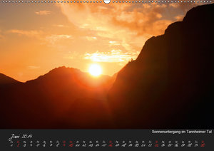 Allgäuer Bergblicke (Wandkalender 2019 DIN A2 quer)