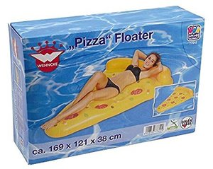 Badeinsel Pizza Floater, 183 x 150 cm