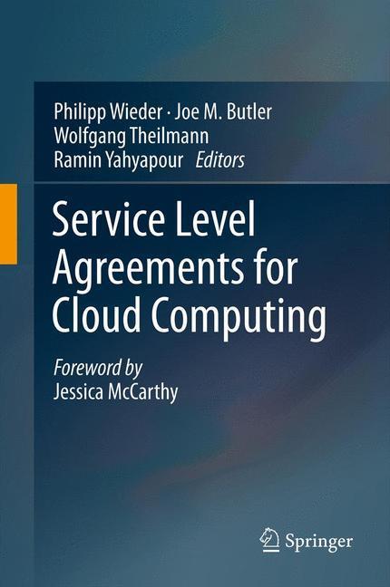Service Level Agreements for Cloud Computing - zum Schließen ins Bild klicken