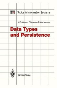 Data Types and Persistence