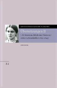Gesamtausgabe. J. H. Newman: Briefe und Texte zur ersten Lebensh