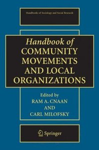 Handbook of Community Movements and Local Organizations