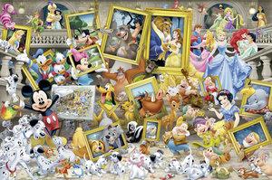 WD: Mickey als Künstler