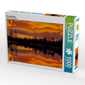 Fire in the Sky 1000 Teile Puzzle quer