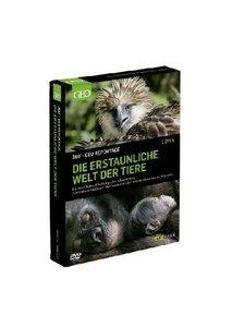 Die erstaunliche Welt der Tiere, 2 DVDs