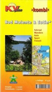 Kombi Malente / Eutin, Ortspläne 1 : 12 500, Freizeitkarte 1 : 2