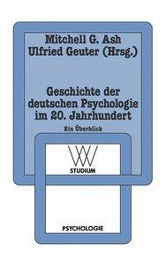Geschichte der deutschen Psychologie im 20. Jahrhundert