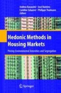 Hedonic Methods in Housing Markets