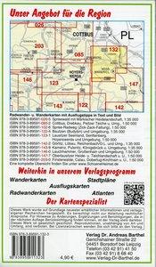 Fürst-Pückler-Park Bad Muskau, Spremberg und Umgebung 1 : 35 000
