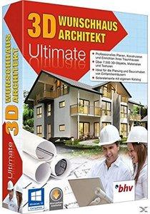 3D Wunschhaus Architekt 9 Ultimate. Für Windows 10, 8.1, 8 , Win