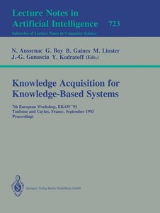Knowledge Acquisition for Knowledge-Based Systems
