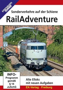 RailAdventure, 1 DVD-Video