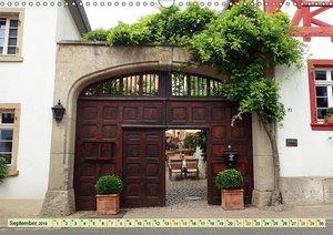 Kunstvolle Tore alter Weingüter (Wandkalender 2019 DIN A3 quer)