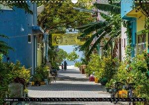 Malediven - echt - bunt - anders (Wandkalender 2019 DIN A3 quer)