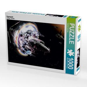 Hypergate 1000 Teile Puzzle quer