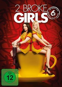 2 Broke Girls. Staffel.6, 2 DVDs
