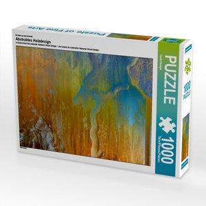 Ein Motiv aus dem Kalender Abstraktes Holzdesign 1000 Teile Puzz